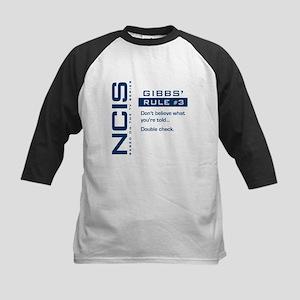 NCIS Gibbs' Rule #3 Kids Baseball Jersey