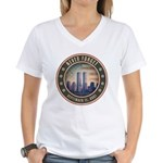 Never Forget Women's V-Neck T-Shirt