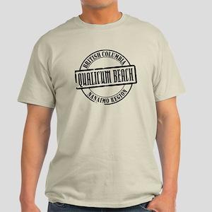 Qualicum Beach Title Light T-Shirt