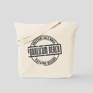 Qualicum Beach Title Tote Bag