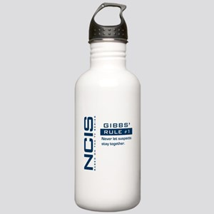 NCIS Gibbs' Rule #1 (Version 2) Stainless Water Bo