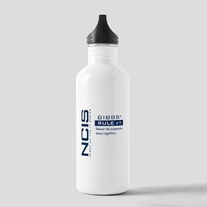 NCIS Gibbs' Rule #1 (Version 2) Stainless Water Bo