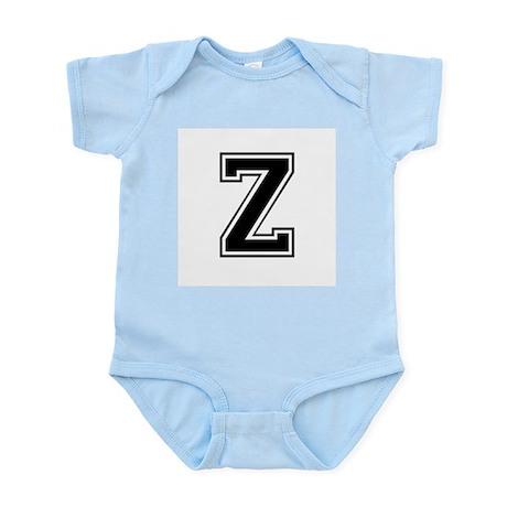 Varsity Letter Z Infant Creeper