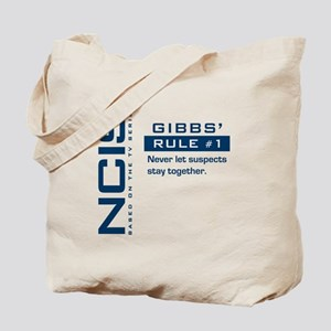 NCIS Gibbs' Rule #1 (Version 2) Tote Bag