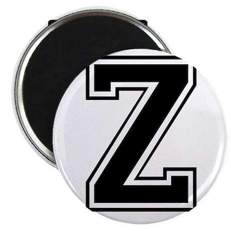 Varsity Letter Z Magnet
