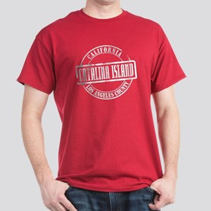 Catalina Island Title Dark T-Shirt