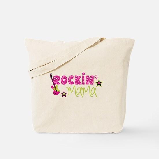 Cute Rock star mom Tote Bag