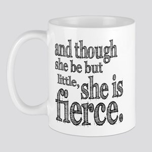 She is Fierce Shakespeare Mug