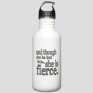 She is Fierce Shakespeare Stainless Water Bottle 1