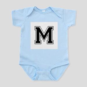 Varsity Letter M Infant Creeper