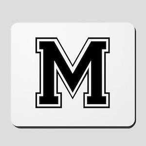 Varsity Letter M Mousepad