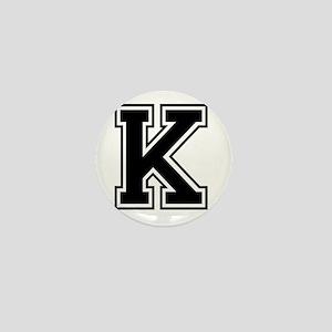 Varsity Letter K Mini Button