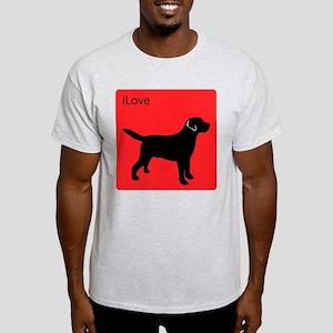 iLove Labs Ash Grey T-Shirt