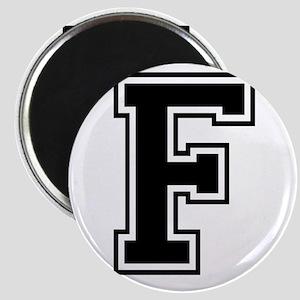 Varsity Letter F Magnet