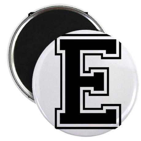 Varsity Letter E Magnet
