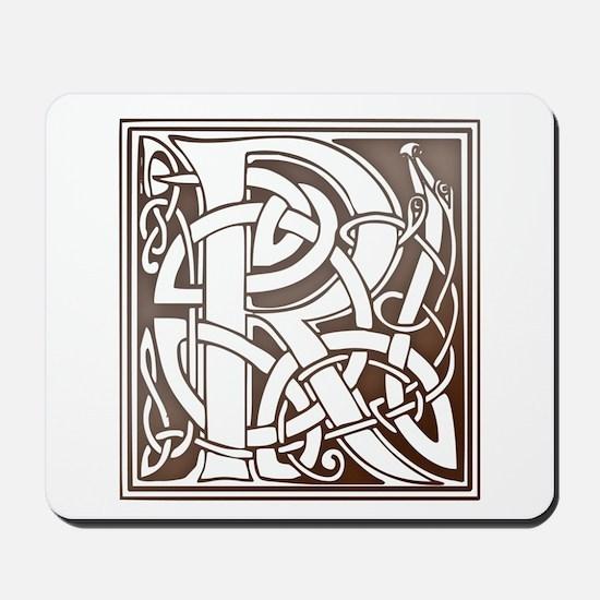 Celtic Letter R Mousepad