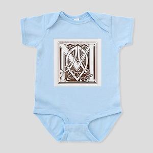 Celtic Letter M Infant Creeper