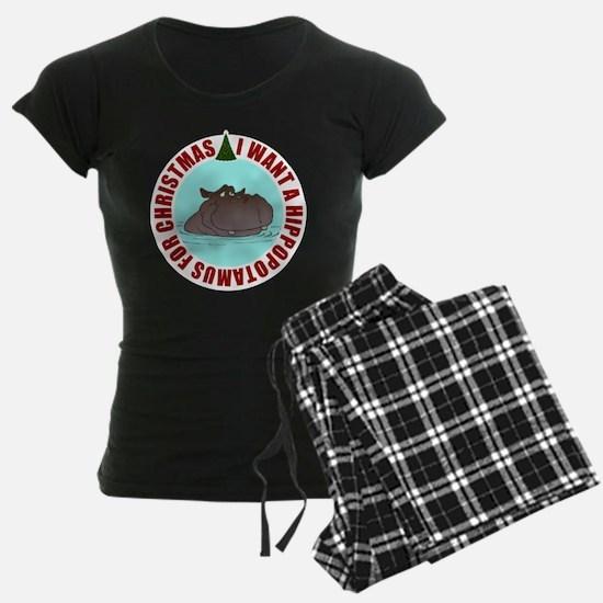 Hippo for Christmas Pajamas