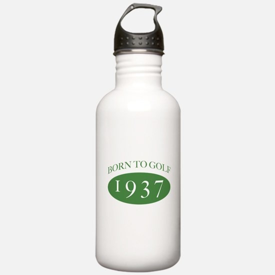 1937 Born To Golf Water Bottle