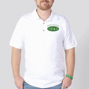 1942 Born To Golf Golf Shirt