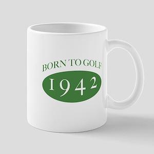 1942 Born To Golf Mug
