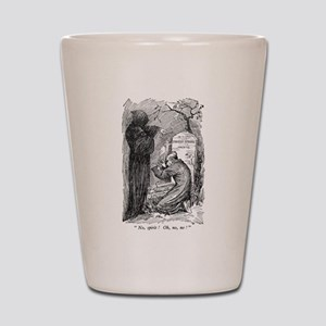 Scrooge's Grave Shot Glass