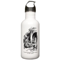 Haunted by Three Spirits Water Bottle