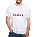 Geek Happy Valentine's Day White T-Shirt