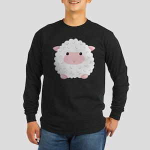 Little Sheep Long Sleeve Dark T-Shirt