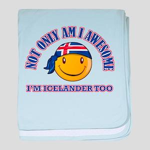iceland designs baby blanket