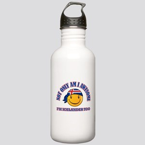 iceland designs Stainless Water Bottle 1.0L