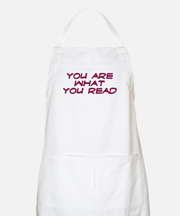 You are what you read BBQ Apron