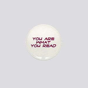 You are what you read Mini Button