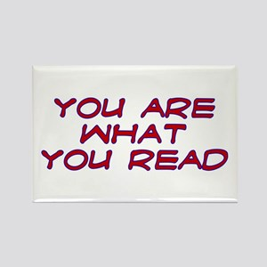 You are what you read Rectangle Magnet