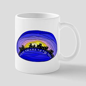 Sky line Mug
