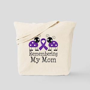 Remembering Mom Alzheimer's Tote Bag