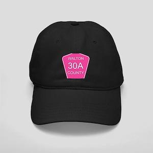 Pink 30A Black Cap