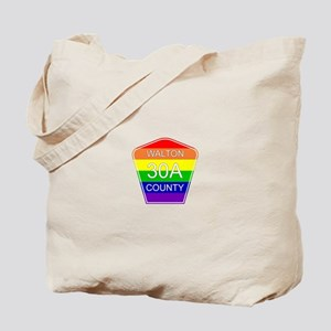 Rainbow 30A Tote Bag
