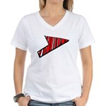 Where Are You Going? Women's V-Neck T-Shirt
