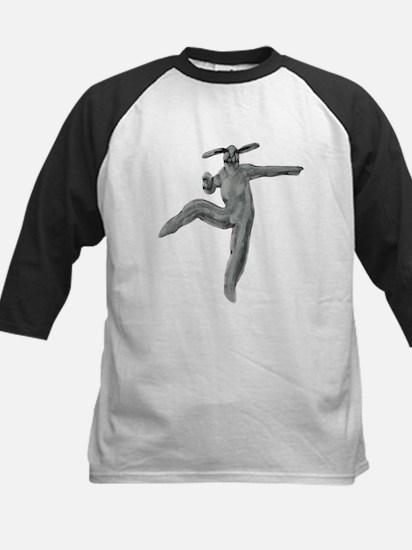 Bunny Ballet No. 8 Kids Baseball Jersey