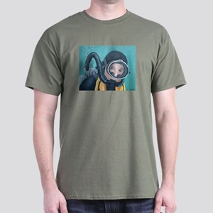 Double Hose Diver Dark T-Shirt