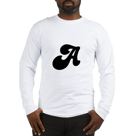 Fun Funky letter A Long Sleeve T-Shirt