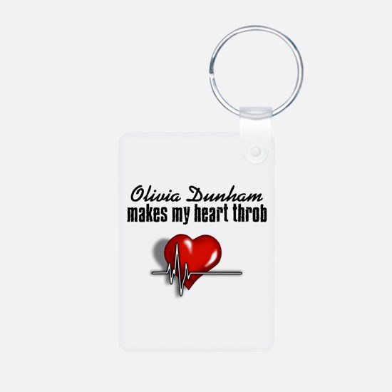 Olivia Dunham makes my heart throb Keychains