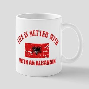 albania designs Mugs