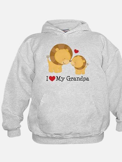 I Heart My Grandpa Hoodie
