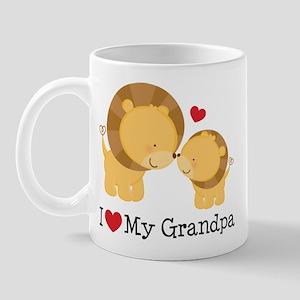 I Heart My Grandpa Mug