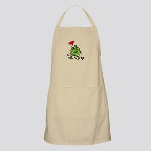 Frog Valentines Day Apron