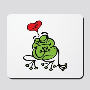 Frog Valentines Day Mousepad