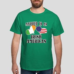 Married Irish American Dark T-Shirt