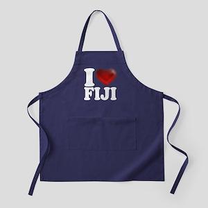 I Heart Fiji Apron (dark)